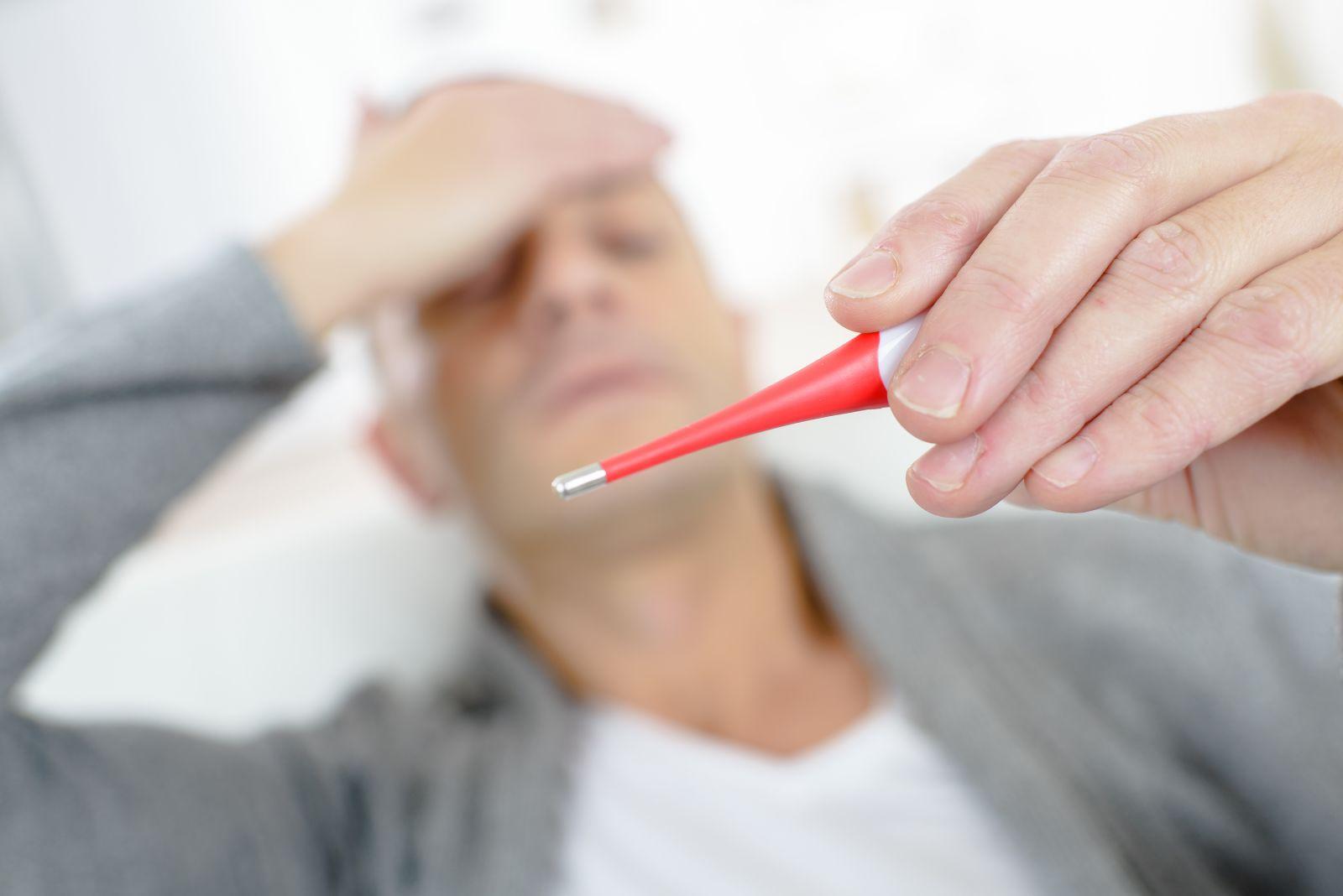 Лихорадка - высокая температура тела